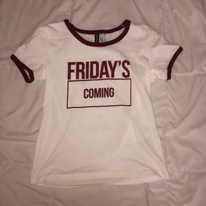 """Friday's Coming"" Tee"